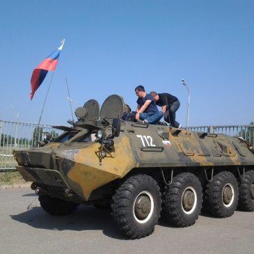 """В кадре – БТР-60 """"Чайка"""""""