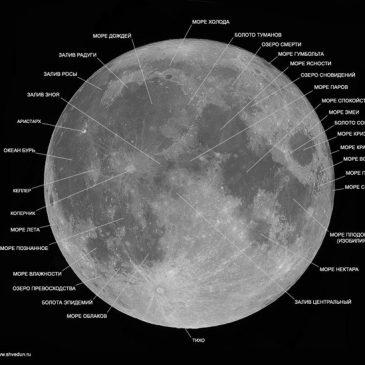 Посмотрим на Луну в телескоп