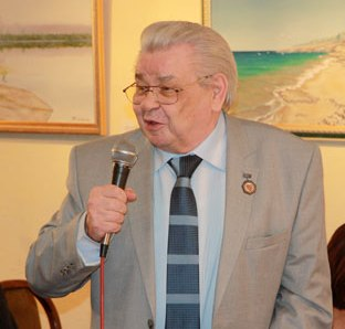 Александру Ибрагимовичу Ясинскому  – 86!