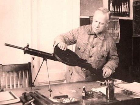 Из истории стрелкового оружия – пулемёт Дегтярёва