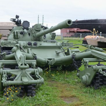 История танка Т-55 от «Поискового отряда»