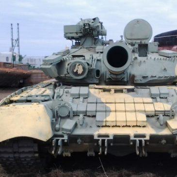 Знакомьтесь — танк Т-80УД