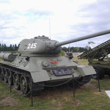 Т-34-85  из Парка