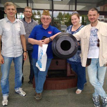 """Делегация от """"Formula Student SAE» посетила Парк"""