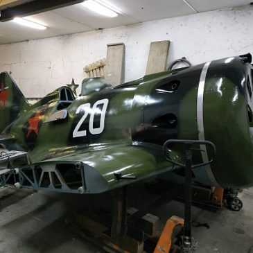 В Новосибирске восстановлен И-16 для музея