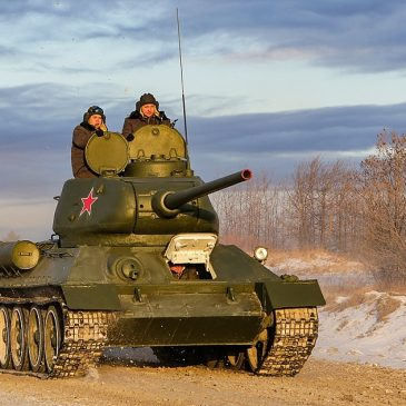 Танку Т-34 – 80 лет!