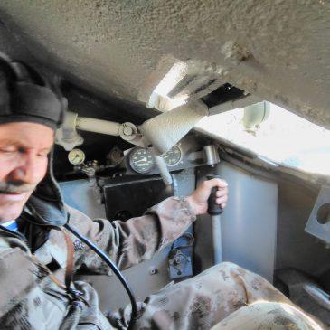 За рычагами Т-34 – Герой России
