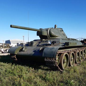 """Динамический показ – """"Т-34-76"""""""