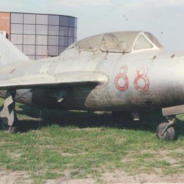 МИГ-15 УТИ в нашем Парке