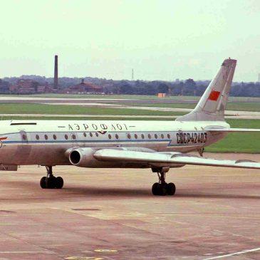 17 июня 1955 года – первый полет ТУ-104.