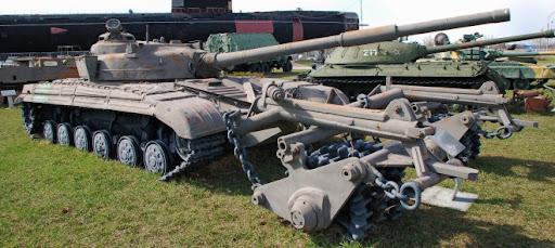 "Т-64 экспозиция Парка – ""Бронетехника"""