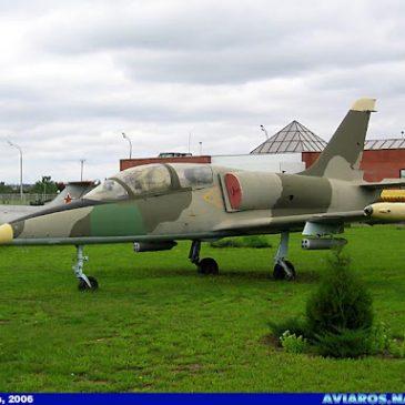"""L-39  Экспозиция Парка – """"Авиация"""""""
